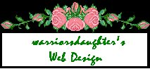 warriorsdaughter's Web Design Logo