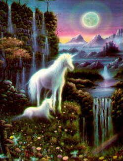 fantasy with unicorns